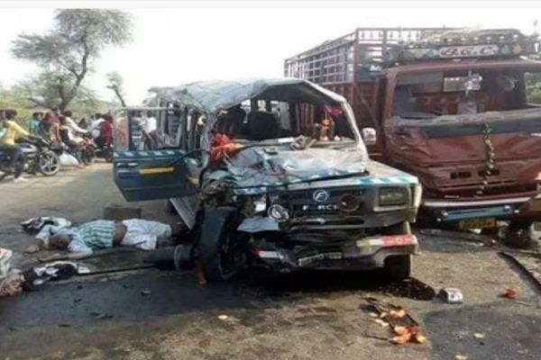 itarsi great road accident on national highway 69 6 killed