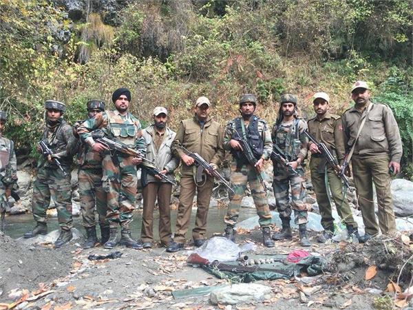 militant hideout busted in kishtwar