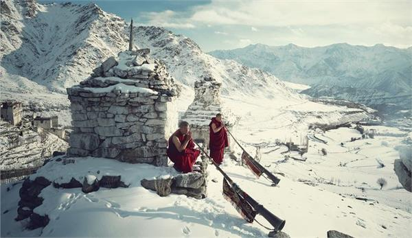 relife from cold in ladakh