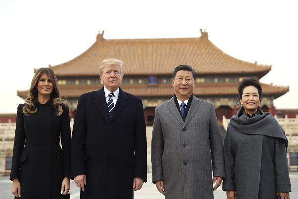 china blurts to clear sky in view of trump visit