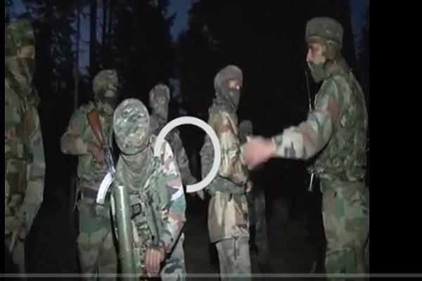 two militants killed in the search operation in hondwara srinagar