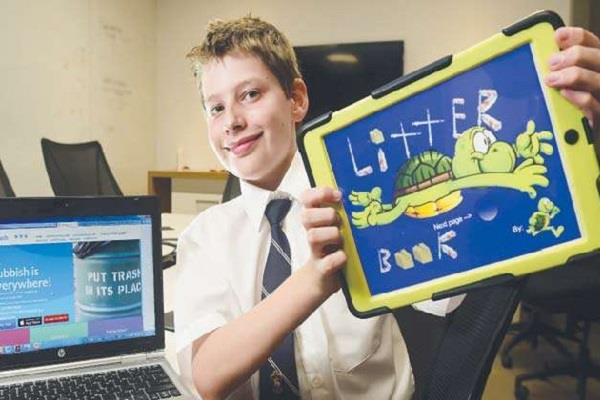 hamish a 13 year old businessman in ges