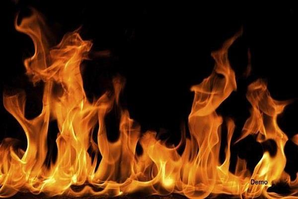 fire in sector 19 house of chandigarh one dead