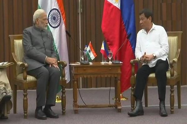 india  philippines agree on strengthening defense ties
