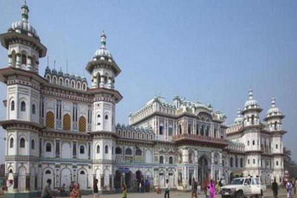 nepal bomb explosion near the famous crisis mukchan temple in janakpur