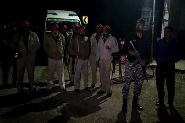 two villages of dinanagar turn into police camp
