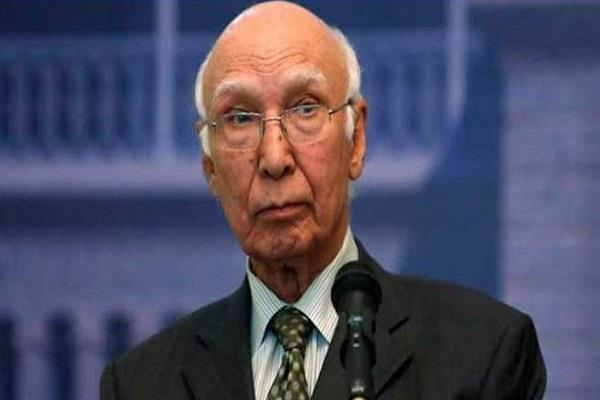 india and afghanistan will not allow trade on their land aziz