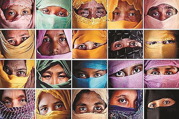 rohingya victims of misdeeds by myanmar soldiers misfortunes of muslim women
