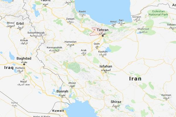 earthquake shocks felt in iran measured the intensity of 5 2