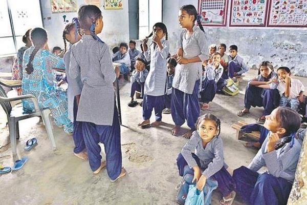 uniforms of 18 000 children stuck in minimum balance charges of banks