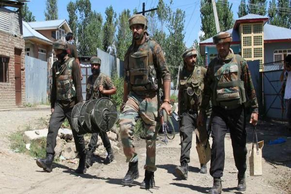 j k 5 militant piles in baramulla handwara encounter
