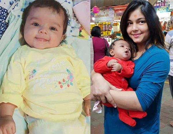 pooja sharma daughter vinaya pictures