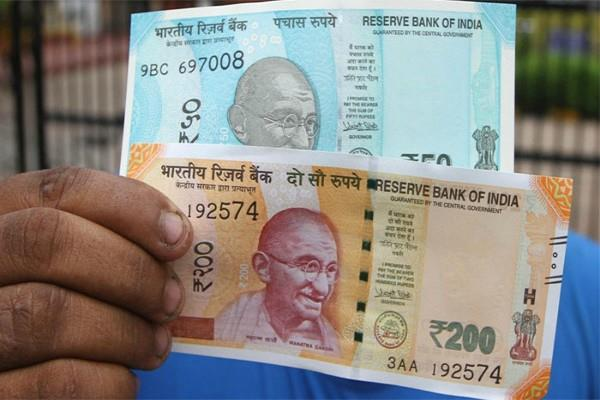 new notes of 200 to 50 rupees are not favorable to blind people