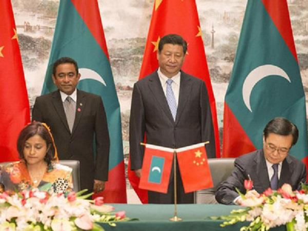 maldives  flouts rules   quietly inks trade deal with china