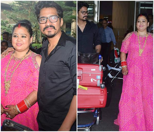 newly married bharti singh look
