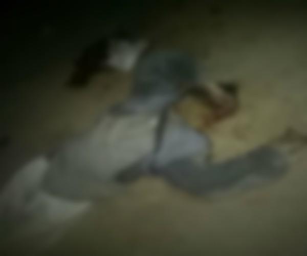 elderly man dead in road accident