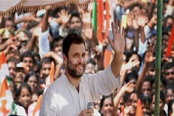 rahul gandhi took over the congress command