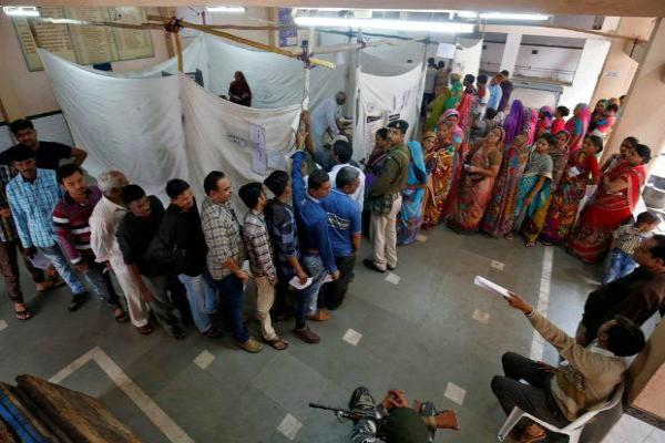 lowest voting in patidar rural areas