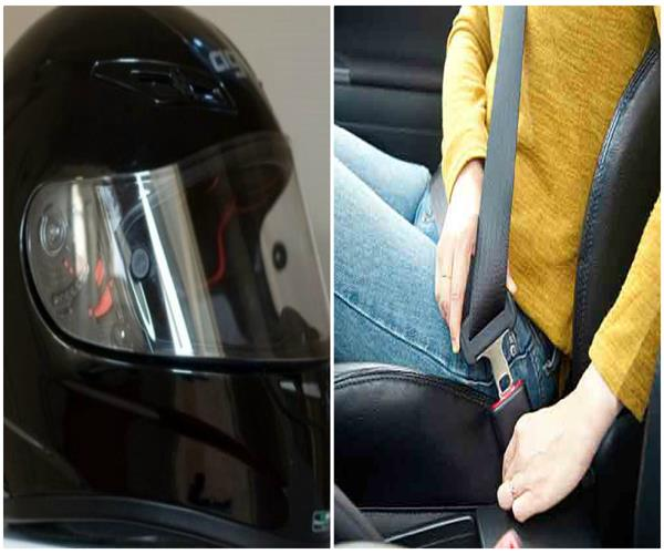 helmets  unbanked people  chopped off  will not do it anymore