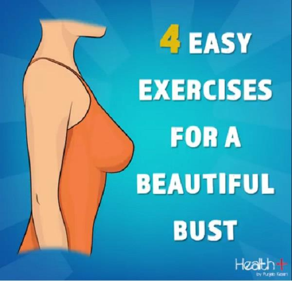 4 easy exercises for a beautiful bust