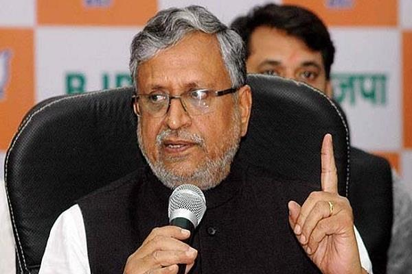 sushil modi give statement on the reservation