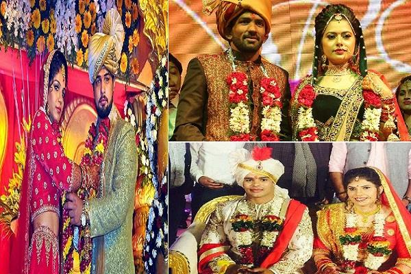 wedding of these wrestlers in 2017