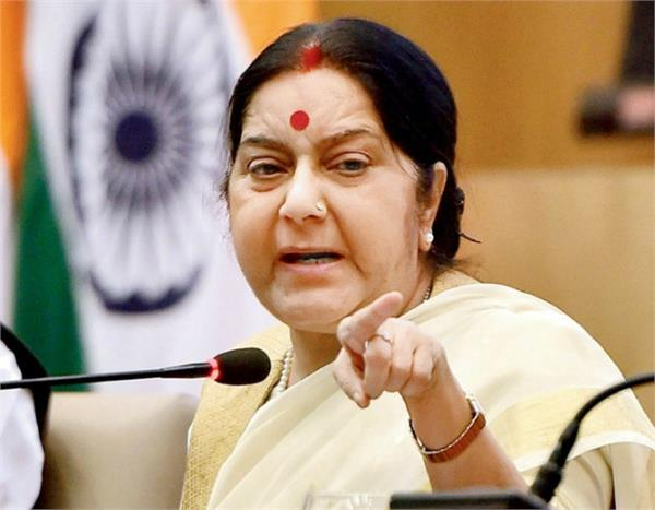 pak wrote letter to sushma said stop the violation of the ceasefire
