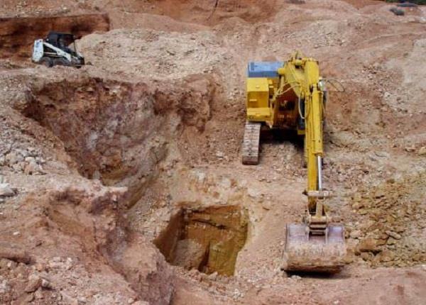 mining mafia has opened demolished thief way