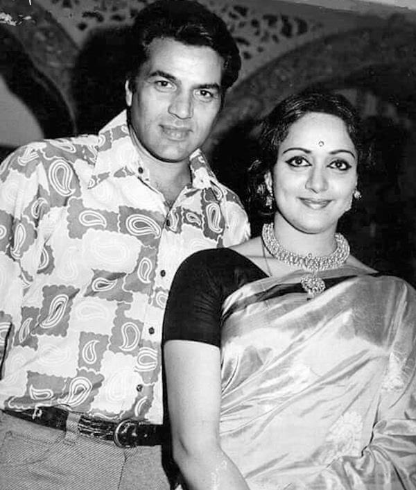 hema malini writes a special message for dharmendra
