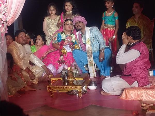 bharti singh live wedding video