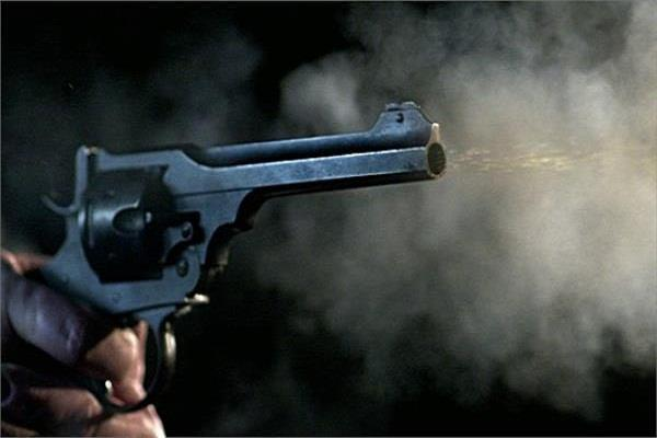 indiscriminate firing ahead of congress supporter  s house