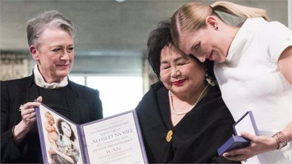 nobel peace prize winner ican warns nuclear war   a tantrum away