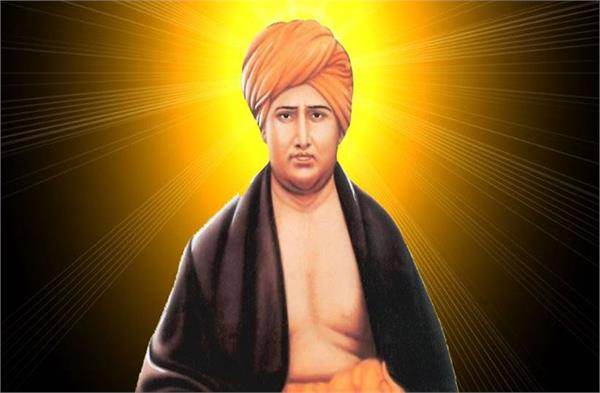 by this knowledge of swami dayanand saraswati a drunken become great singer