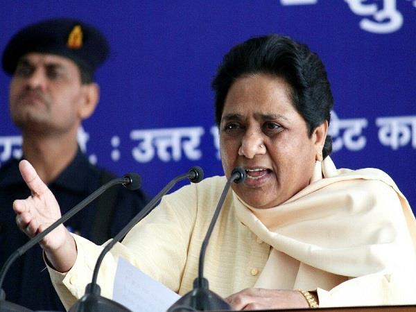 bjp leaders have given simple silence after mayawati s challenge