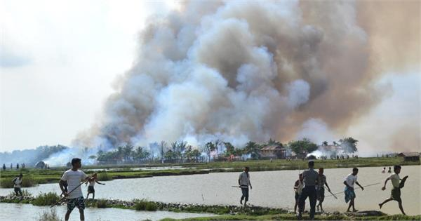 40 more rohingya villages burnt in myanmar