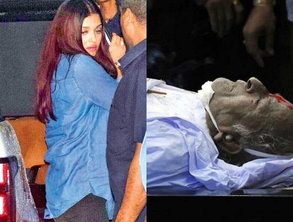 on the demise of shashi kapoor aishwarya was badly disgraced