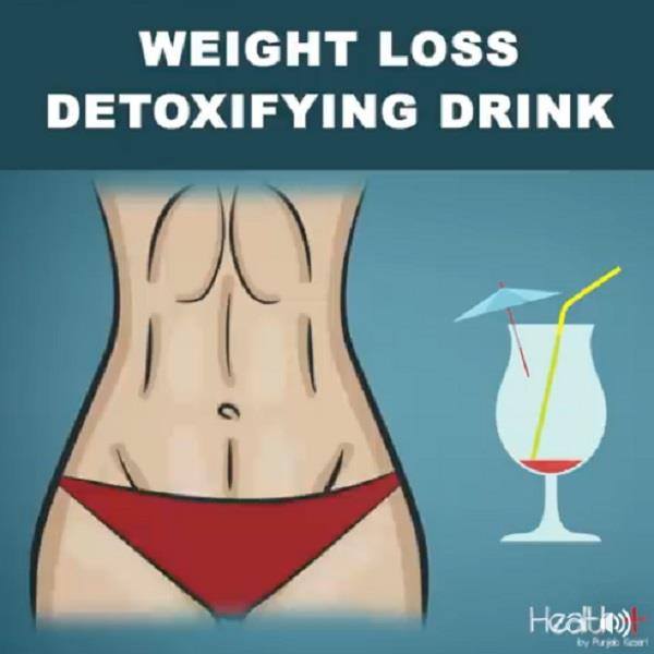 weight loss detoxifying drink