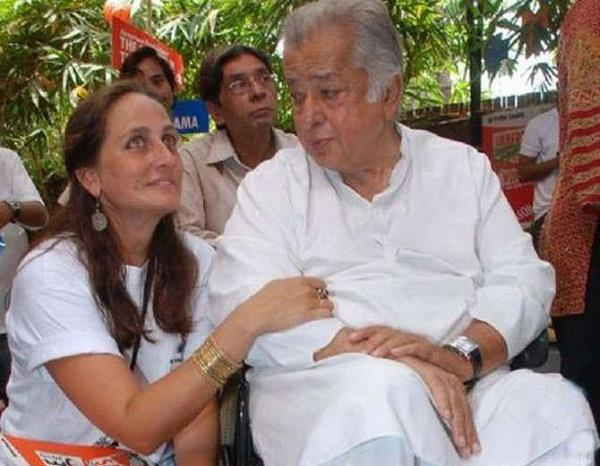 daughter sanjana kapoor tribute to father shashi kapoor