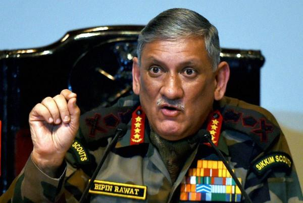 army campaign will continue in kashmir against terrorists rawat