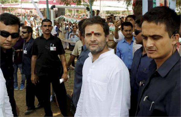rahul will return tomorrow to visit gujarat