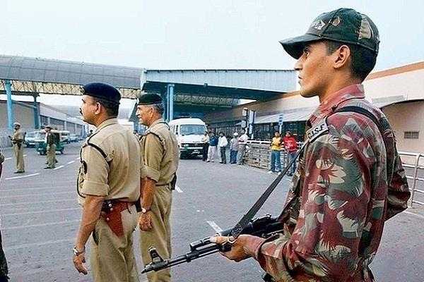 paramilitary forces should be internal security force  congress