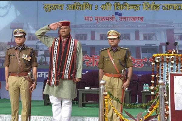 cm observe parade on homeguard installation day