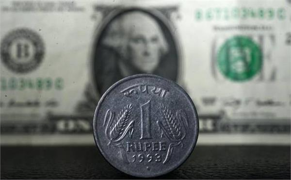rupee down 5 paise to 64 57 against dollar
