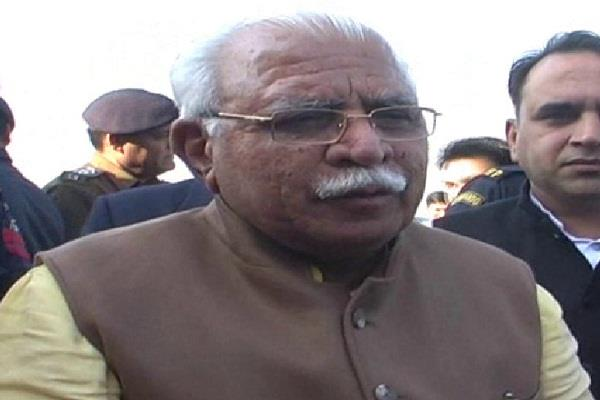 manohar lal khattar bjp win congress free india