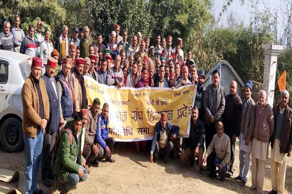 indian farmers union will run membership campaign from himachal