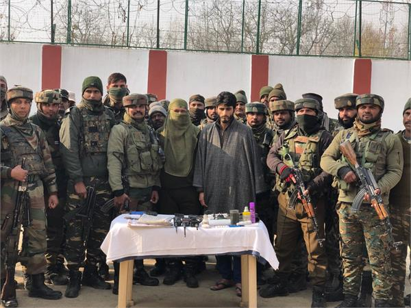 ogw arrested in kashmir