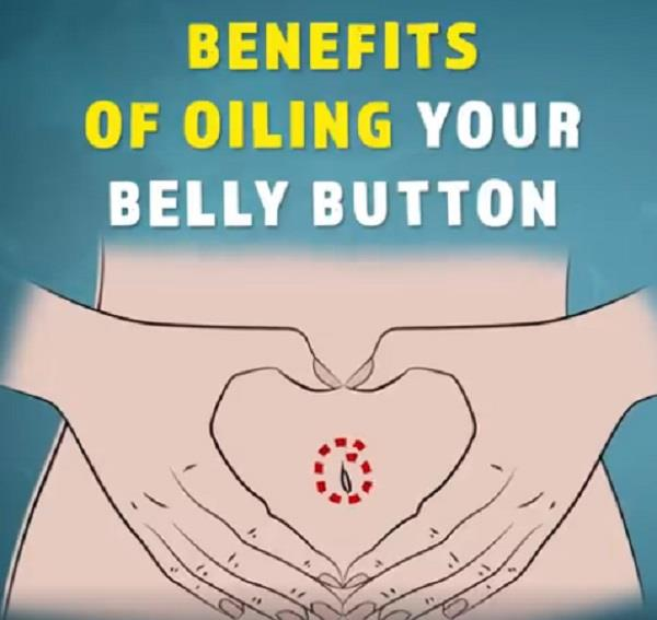benefits of oiling your belly button