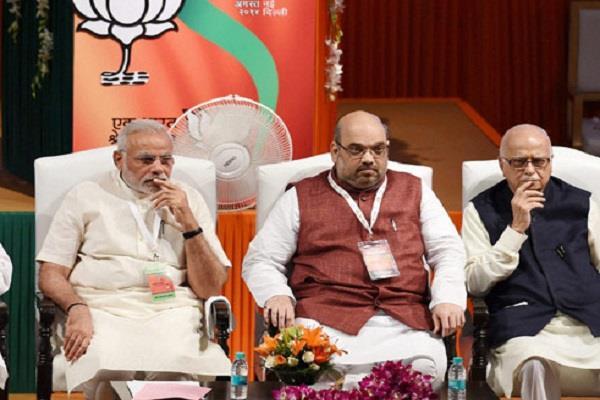 amit shah can soon snatch advani room