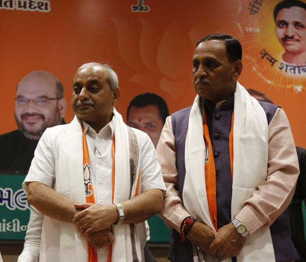 vijay rupani will be cm of gujarat