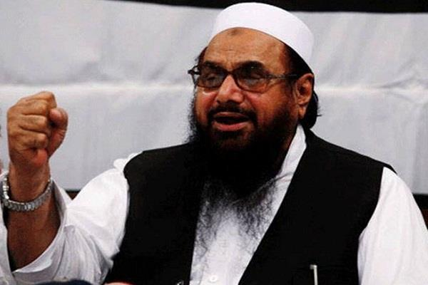 hafiz saeed  the terrorist again blamed for kashmir